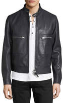 Tom Ford Lambskin Leather Bomber Jacket