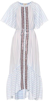 Lemlem Nefasi cotton-blend maxi dress