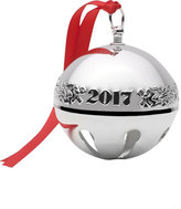 Mikasa Wallace® 2017 Silver Plated Sleigh Bell Ornament 47th Edition