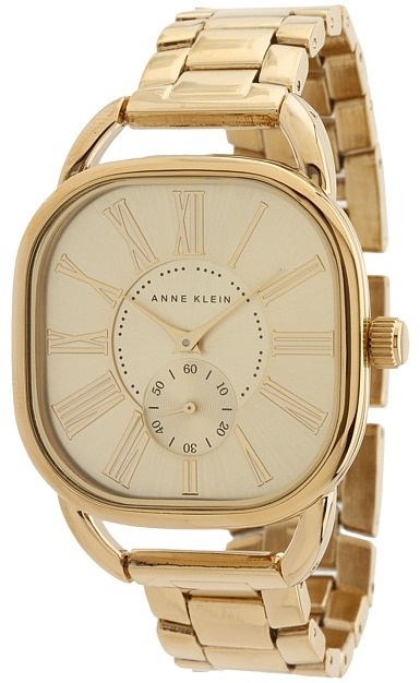 Anne Klein AK-1278CHGB (Gold) - Jewelry