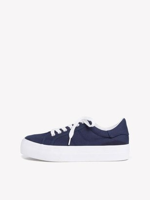 Tamaris Chunky White Sole Trainers - 36 / Navy