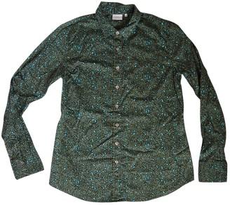 Caliban Green Cotton Top for Women