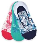 Sperry Three-Pack Canoe Liner Socks