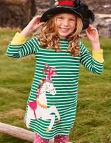 Boden Appliqué Jersey Dress