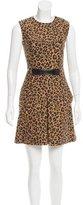 3.1 Phillip Lim Leopard-Patterned A-Line Dress