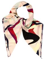 Missoni Abstract Print Square Scarf