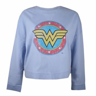 Dc Comics Women's Wonderwoman Classic Sweatshirt