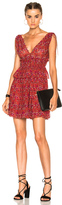 Ulla Johnson Noelle Dress in Floral,Red.