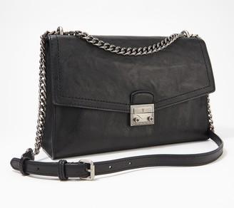 Frye Leather Ella Flap Shoulder Bag