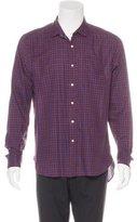Shipley & Halmos Plaid Woven Shirt