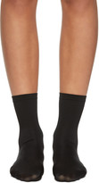 Wolford Black Velvet 66 Socks