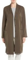 Eileen Fisher Women's Long Tencel Twill Jacket