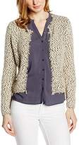 Passport 106411–161 Z Women's Cardigan - Beige - 8