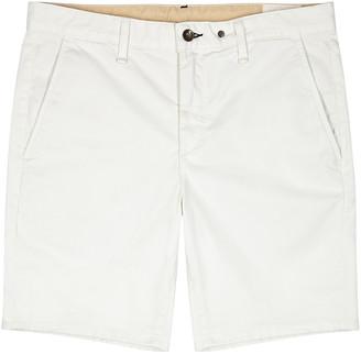 Rag & Bone Ecru stretch-cotton shorts
