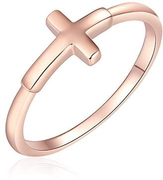 Rafaela Donata Classic Collection Rafaela Donata - Ring - 925 Sterling Silver (Pink Gold-plated) - Women's Jewelry - Many Sizes, Silver Jewelry, Sterling Silver Ring - 60903109