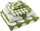 Orla Kiely Stem Jacquard Towel - Apple - Hand Towel