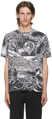 Paul Smith Black and White Chilean Print T-Shirt