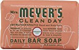 Mrs. Meyer's Bar Soap, Daily, Geranium, 5.3 Oz ( Multi-Pack) by