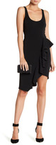 Jay Godfrey Mannix Ruffle Asymmetric Dress
