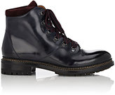 O'Keeffe Men's Leather Hiking Boots-NAVY