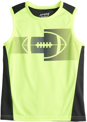 Boys 4-12 Jumping Beans Pieced Active Muscle Top