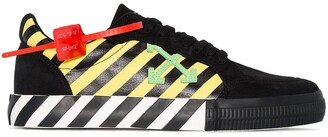 Off-White Arrow Logo Stripe Sneakers
