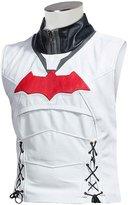 Laverapelle Batman Arkham Knight Black Hood Men Vest and Jacket 2 in 1