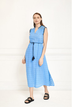 MKT Studio Blue Ricita Dress - 40