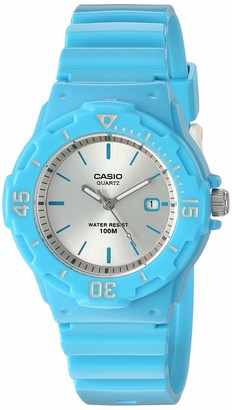 Casio Men's Classic Stainless Steel Quartz Watch with Resin Strap Black 18 (Model: LRW-200H-2E3VCF)