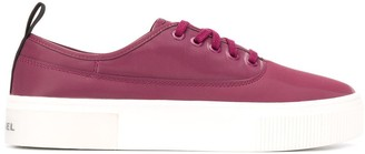 Diesel Chunky Sole Plimsoll Trainers