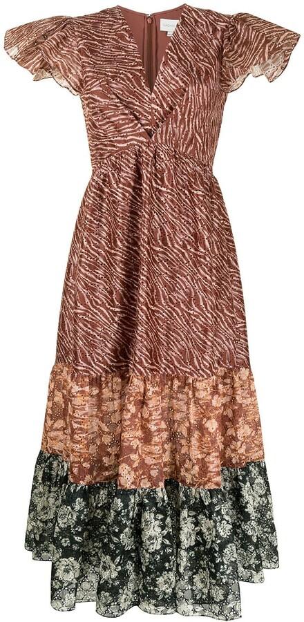 Sachin + Babi Lori zebra-print dress