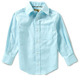 Class Club Gold Label Little Boys 2T-7 Textured Dress Shirt