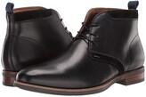 Florsheim Uptown Plain Toe Chukka Boot (Black Leather/Suede) Men's Boots
