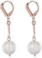 Eddie Borgo Dahlia Orb Day Drop Earrings, Rose Golden