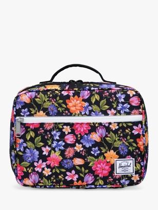 Herschel Children's Pop Quiz Garden Floral Lunch Box, Multi