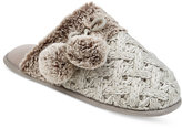 INC International Concepts Basketweave Clog Slippers, Only at Macy's
