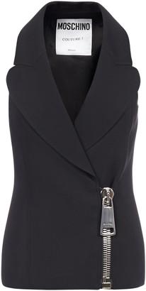 Moschino Zipped Tailored Vest