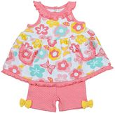 Baby Gear Baby Girl Swing Tank Top & Shorts Set