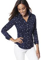 New York & Co. 7th Avenue Design Studio - Madison Stretch Shirt - Star-Print