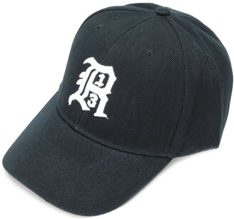 R 13 embroidered logo cap