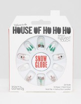 Elegant Touch House Oh Ho Ho Ho Nails By Snow Globe