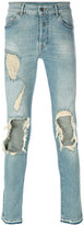 Marcelo Burlon County of Milan overdyed Pecho slim fit jeans