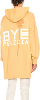 Baja East Bye Felicia French Terry Hoodie