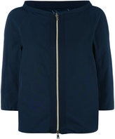 Herno three-quarters down jacket - women - Cotton/Polyamide/Polyester/Goose Down - 44