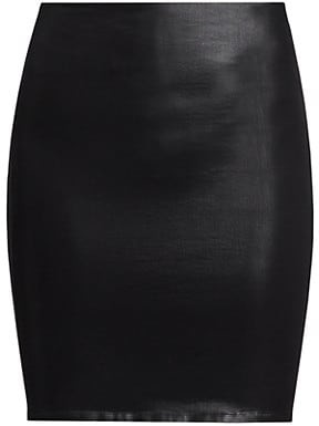 L'Agence Rochelle High-Rise Pull-On Skirt
