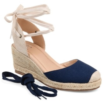 Journee Collection Monte Espadrille Wedge Sandal