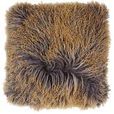 Aviva Stanoff Tibetan Lamb Fur Pillow