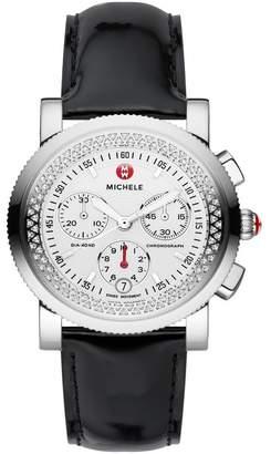Michele Women's Sport Sail Diamond Strap Watch, 38mm - 0.46 ctw