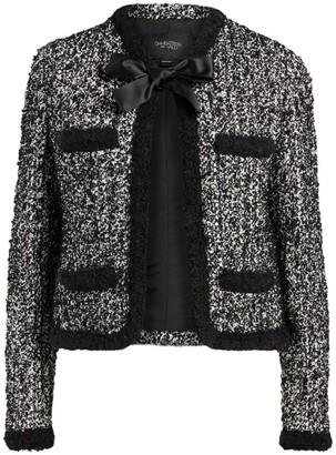 Giambattista Valli Bow-Detail Tweed Jacket