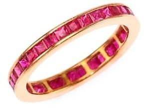 Meira T Ruby 14K Rose Gold Ring